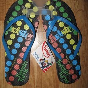 Twister Flip Flops Adult Size 5/6